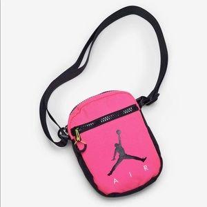 🤑2/$30🤑Hot Pink & Black Jordan Festival Bag